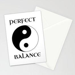 Perfect Balance Yin Yang Stationery Cards