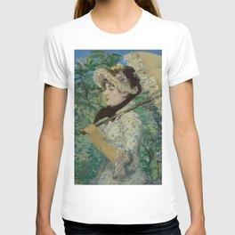 Édouard Manet - Le Printemps (Jeanne Demarsy) T-shirt