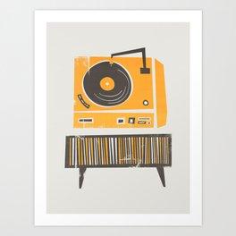 Vinyl Deck Kunstdrucke