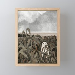 There's A Ghost in the Cornfield Again Framed Mini Art Print