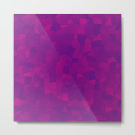 Geometric Shapes Fragments Pattern 2 mag3i Metal Print