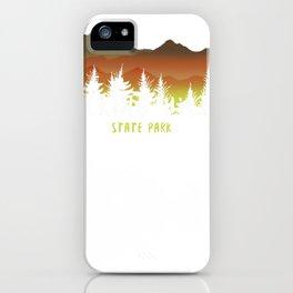 hocking hills state park multi-tone tee memento iPhone Case