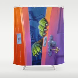 How to Kill a Monster Shower Curtain