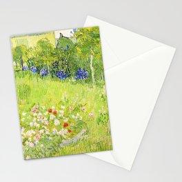 Vincent van Gogh - Daubigny's Garden - Digital Remastered Edition Stationery Cards
