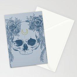 Moon Skull Stationery Cards