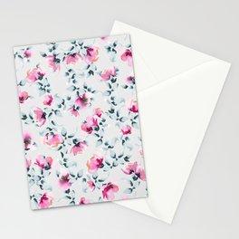 Raining Roses Stationery Cards
