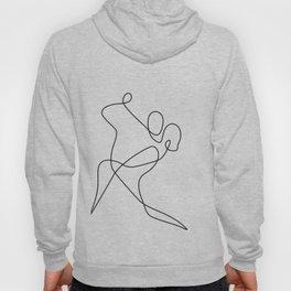 minimal line dance Hoodie