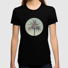 Retro palm tree T-shirt