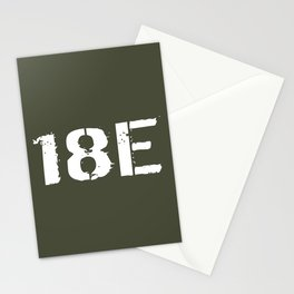 18E Special Forces Communications Stationery Cards
