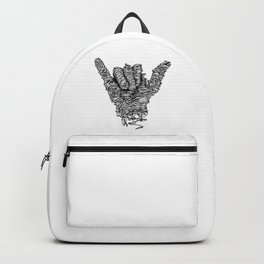 Hang Loose Shaka Backpack