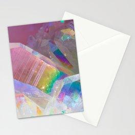 Opal Aura Quartz Crystal 1 Stationery Cards