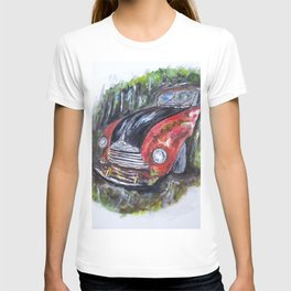 Abandoned in Woods T-shirt