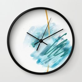 Ocean's Tide Wall Clock