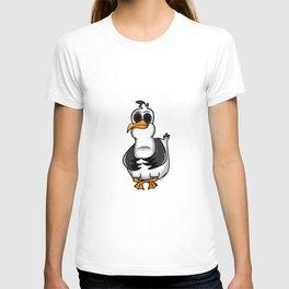 PLATTDEUTSCHER SPRUCH MÖWE T-shirt