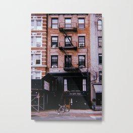 New York City // Retro 35 Metal Print