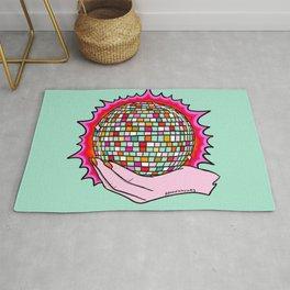 The Holy Disco Ball Rug