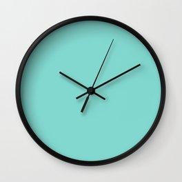 Simply Solid - Tiffany Blue Wall Clock