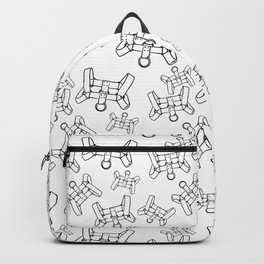 Chest Harness Pattern (invert) Backpack