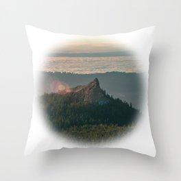 Sturgeon Rock Throw Pillow