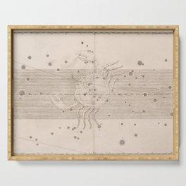 Johann Bayer - Uranometria / Measuring the Heavens (1661) - 23 Cancer Serving Tray