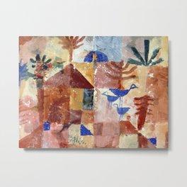 Paul Klee - Landscape with Bluebirds Metal Print