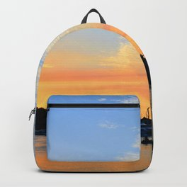 Sunset at Hamilton Island Backpack