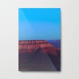 Alien Canyon Metal Print
