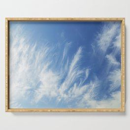 Cirrus Clouds 1 Serving Tray