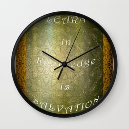 I think, therefore I am Wall Clock