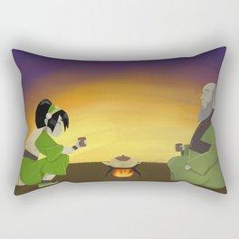 Cup of Tea with Iroh Rectangular Pillow