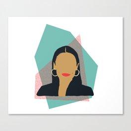 Rep Alexandria Ocasio Cortez AOC Canvas Print