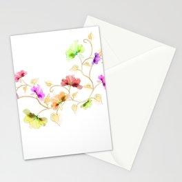 Flower Vine Stationery Cards