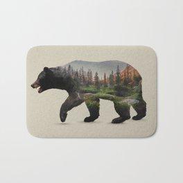 The North American Black Bear Badematte