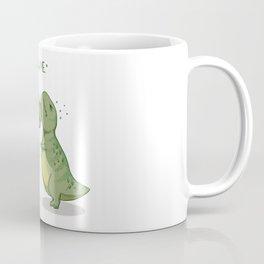 T-Rex Hugs Coffee Mug