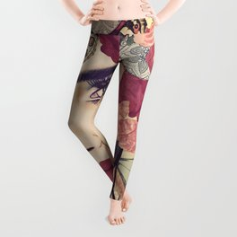 NATURE ITESLF BOHEMIAN WOMAN PAINTING Leggings