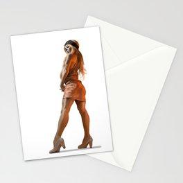 Hippy chick Stationery Cards