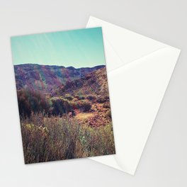 lavaland rainbow - two Stationery Cards
