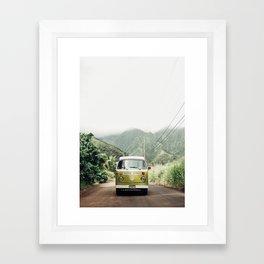 Mango In The Jungle Framed Art Print