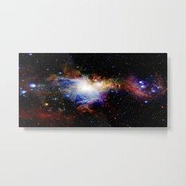 Orion NebulA Colorful Full Image Metal Print