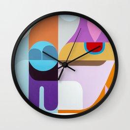 Light Climbers Wall Clock