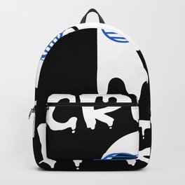 Creep It Real Halloween Party Ghost Backpack