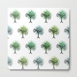 Tree pattern Metal Print