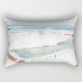 Bondi Beach - Bondi Icebergs Club Rectangular Pillow