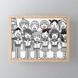 Harmonically Framed Mini Art Print