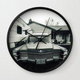 Hearse Wall Clock
