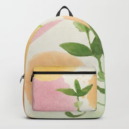 Watercolour Plant I Backpack