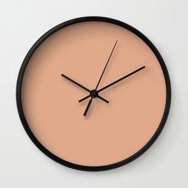 Simply Solid - Tumbleweed Wall Clock