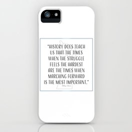 Marching Forward - HRC iPhone Case