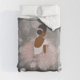 African American Ballerina Dancer Comforters