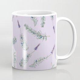 Lavender, Illustration Coffee Mug